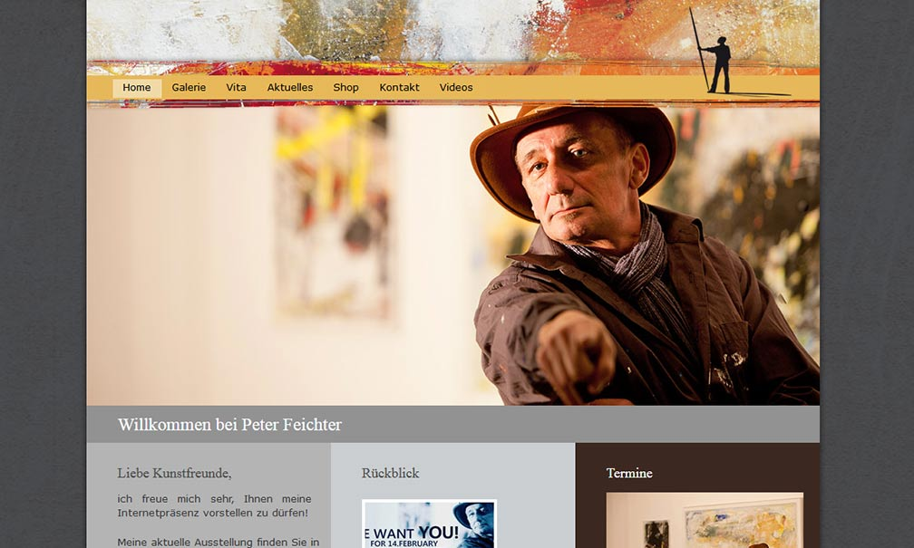 Peter Feichter Website