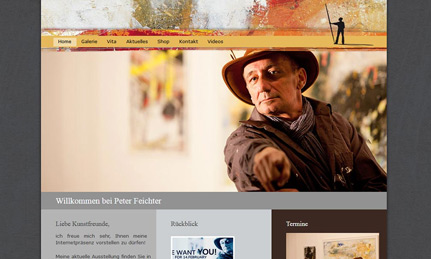 Peter Feichter Webdesign