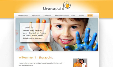 Therapoint Holzgerlingen Webdesign